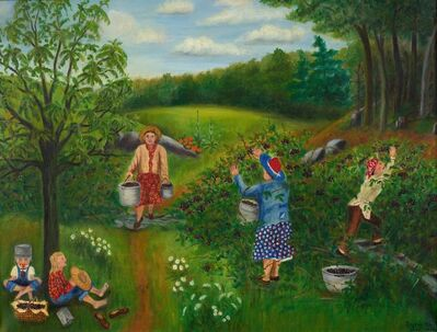 Queena Stovall, 'Blackberry Picking', 1950