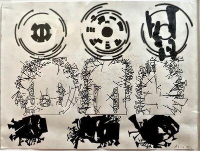 Barry Le Va, 'Untitled (African Sketchbook)', 1992
