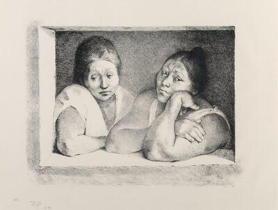 Francisco Zúñiga, 'Mujeres en la ventana', 1977