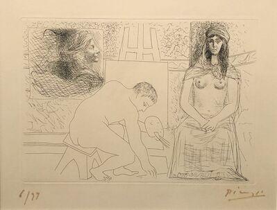 Pablo Picasso, 'Peintre Ramassant son Pinceau', 1927