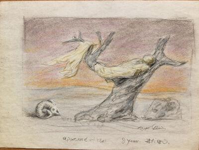 Pei Zhuangxin, 'Sketch ⼿稿《⼽雅銅版畫⾵格的圖像》', 1999