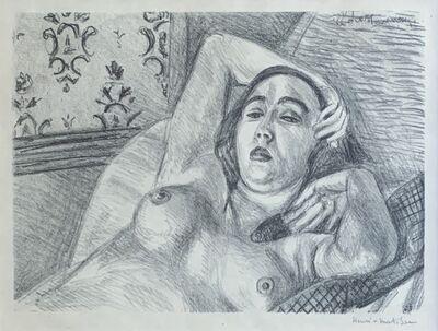 Henri Matisse, 'SIGNED, Le Repos du modele (Model in Repose)', 1922