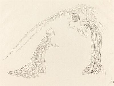 Carlos Schwabe, 'The Annunciation (L'Annonciation)', 1893