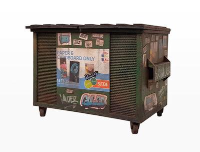 Joshua Smith, 'Sita Recycling Dumpster (based on sita recycling dumpster, Melbourne)', 2016