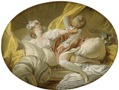 Jean-Honoré Fragonard, 'Useless Resistance', 1770-1773