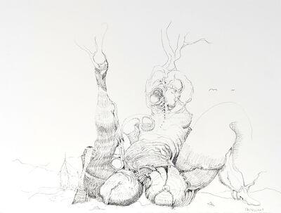 Antoine de Castellane, 'Etude Arborescere E', 2019