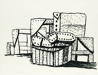 Philip Guston, 'Studio Forms', 1980