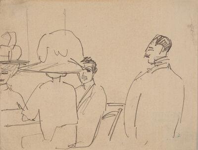 Ernst Ludwig Kirchner, 'Im Restaurant (In the Restaurant)', 1911