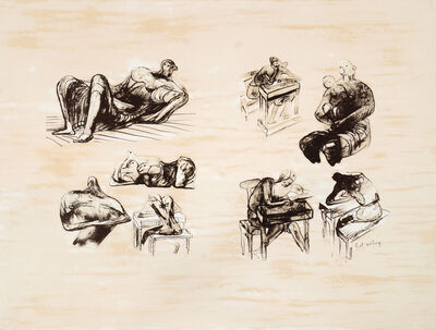 Henry Moore, 'Eight Sculptural Ideas', 1973