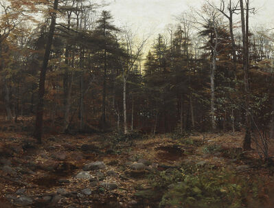 William Bliss Baker, 'Woodland Scene', 1885
