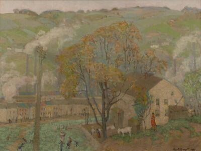 Ross Braught, 'Manayunk', 1921