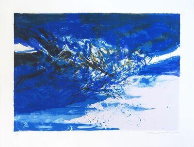 Zao Wou-Ki 趙無極, 'Untitled 395', 1998