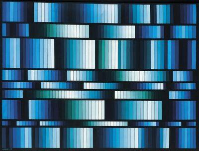 María Freire, 'Vibrante azul', 1978