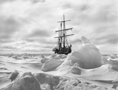 Frank Hurley, 'Endurance frozen in the ice', 1912-1914