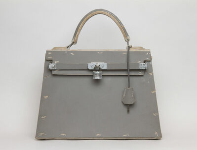 Tom Sachs, 'Gray kelly Bag', 2016