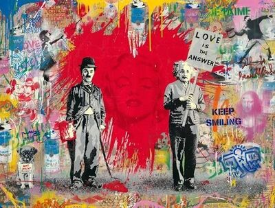 Mr. Brainwash, 'Juxtapose (CMN19064)', 2019