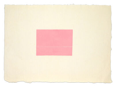 Fred Sandback, 'Untitled', ca. 1977