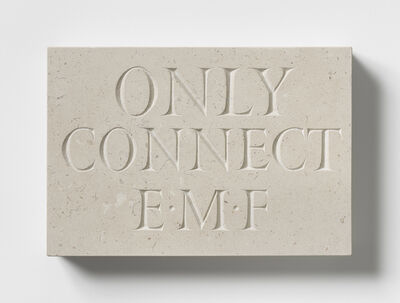 Ian Hamilton Finlay, 'Only Connect', 1998