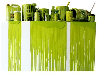 """Jorge Magyaroff, 'From the series """"color, object and time""""(green)', 2015"""