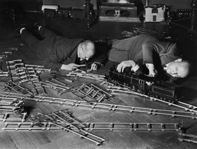 Alfred Eisenstaedt, 'Toy Train Society, Berlin', 1931