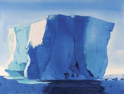 Scott Kelley (b. 1963), 'Tabular Berg, Cormorant Island, Antarctica'