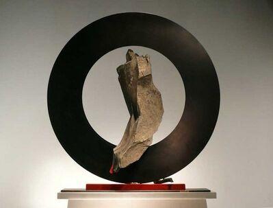 John Van Alstine, 'Sisyphean Circle XLII (I circle)'