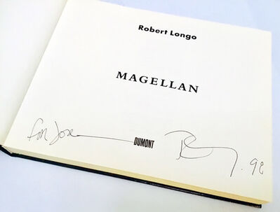 Robert Longo, 'Signed Robert Longo Magellan book ', 1997