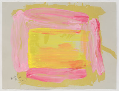 Howard Hodgkin, 'A Pale Reflection', 2015-2016