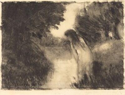 Camille Pissarro, 'Bather', 1894