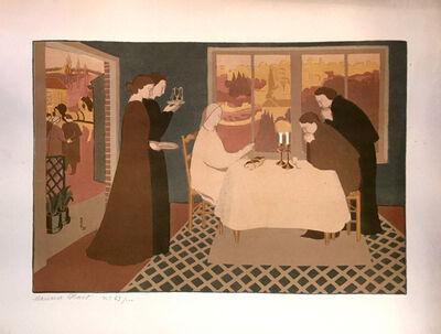 Maurice Denis, 'Les Pèlerins d'Emmaus', 1895