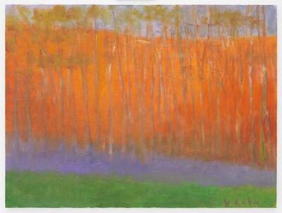 Wolf Kahn, 'Purple Ground Fog', 2003