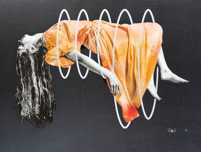 Snik, 'Escape (Orange)', 2018