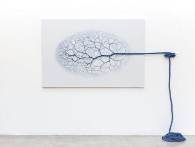 Janaina Mello Landini, 'Ciclotrama 122 (vento) ', 2018