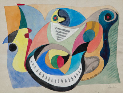 Auguste Herbin, 'Untitled ', 1926