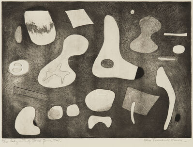 Alice Trumbull Mason, 'Labyrinth of Closed Forms', 1945