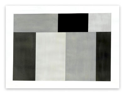 Tom McGlynn, 'Test Pattern 6 (Grey study) (Abstract painting)', 2005