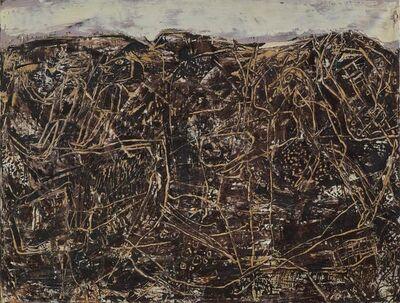 Jean Dubuffet, 'Bon Espoir (Paysage avec personnages)', 1955