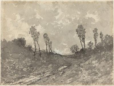 Henri-Joseph Harpignies, 'Road at Hérisson', 1911