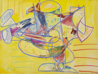 Hans Hofmann, 'The Table', 1944