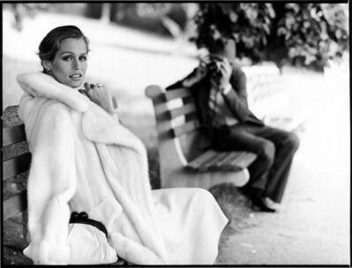 Arthur Elgort, 'Lauren Hutton in Central Park', 1975