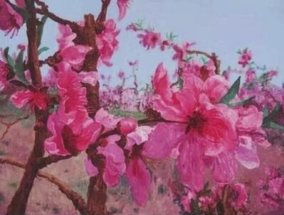 Zhou Chunya 周春芽, 'Blossoming Peach', 2012