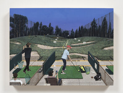 Paige Jiyoung Moon, 'Sunset Golfing', 2020