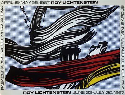 Roy Lichtenstein, 'Brushstrokes Poster', 1967