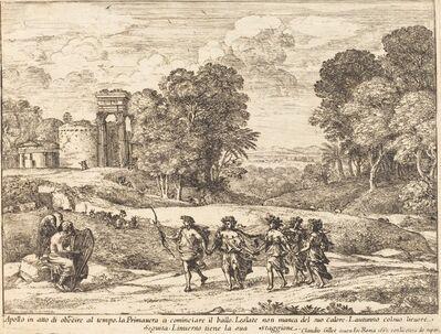 Claude Lorrain, 'Time, Apollo, and the Seasons (Le Temps, Apollon et les Saisons)', 1662