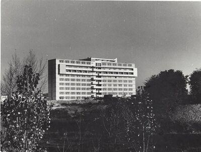 János Szász, 'Series of Buildings', ca. 1960