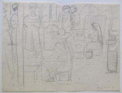 Diego Rivera, 'Market Scene', 1949