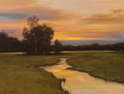 Dennis Sheehan, 'Winding River At Dusk'