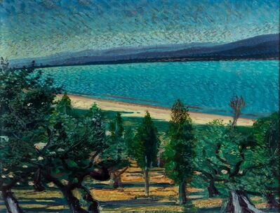 Gerardo Dottori, 'Landscape with lake', 1940
