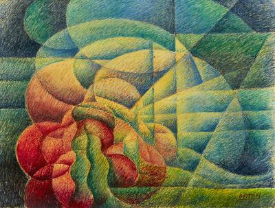 """Gerardo Dottori, '""""Forms-Colors""""', 1953"""