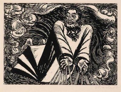 Ernst Barlach, 'The First Day (Der Erste Tag) (Scult Ii 164; Laur 69.04)', 1920